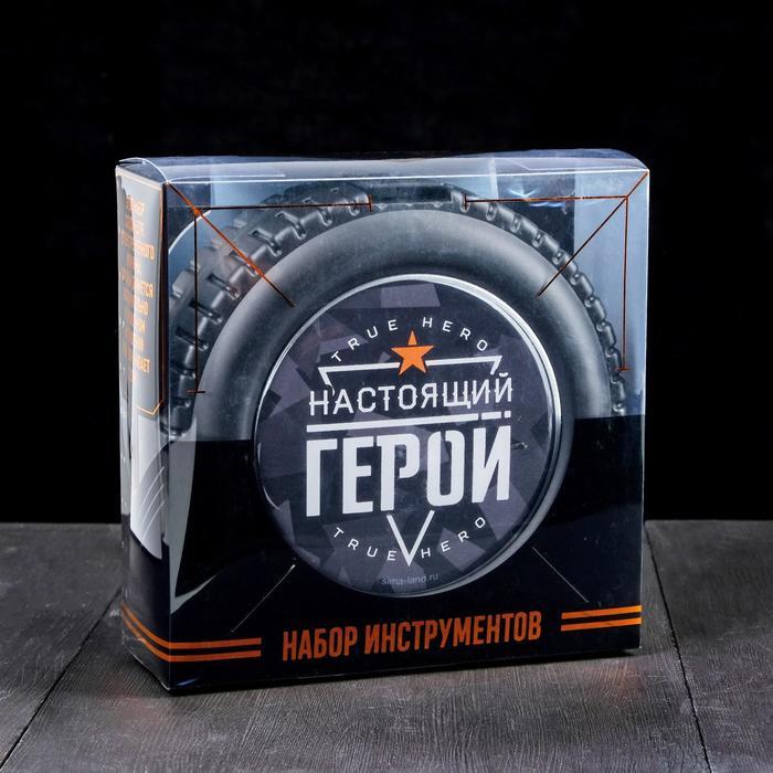 """Набор инструментов в колесе """"Настоящий герой"""", 24 предмета - фото 2020341"""