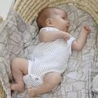 Пелёнка детская, принт кляксы, звёзды, palm tree 80x80 см, 3 шт в наборе - фото 764030