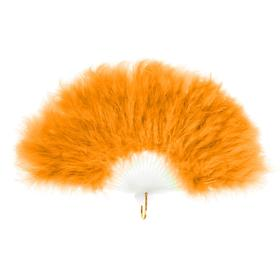 A feather fan, 30 cm MIX colors