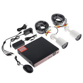 Комплект видеонаблюдения Si-Cam, 2 наружные камеры, 2 Мп, без HHD