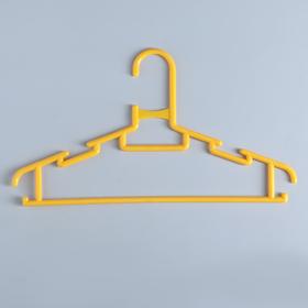 Вешалка-плечики детская, размер 30-34 'Бабочка', цвет МИКС Ош