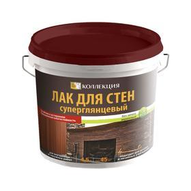 Лак КОЛЛЕКЦИЯ для стен суперглянцевый 4.5л