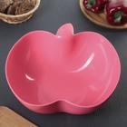 """Салатник 3,7 л """"Яблоко"""", цвет розовый"""