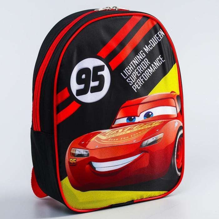 Рюкзак «Тачки», 21 х 30 см, отдел на молнии, Дисней - фото 2050287