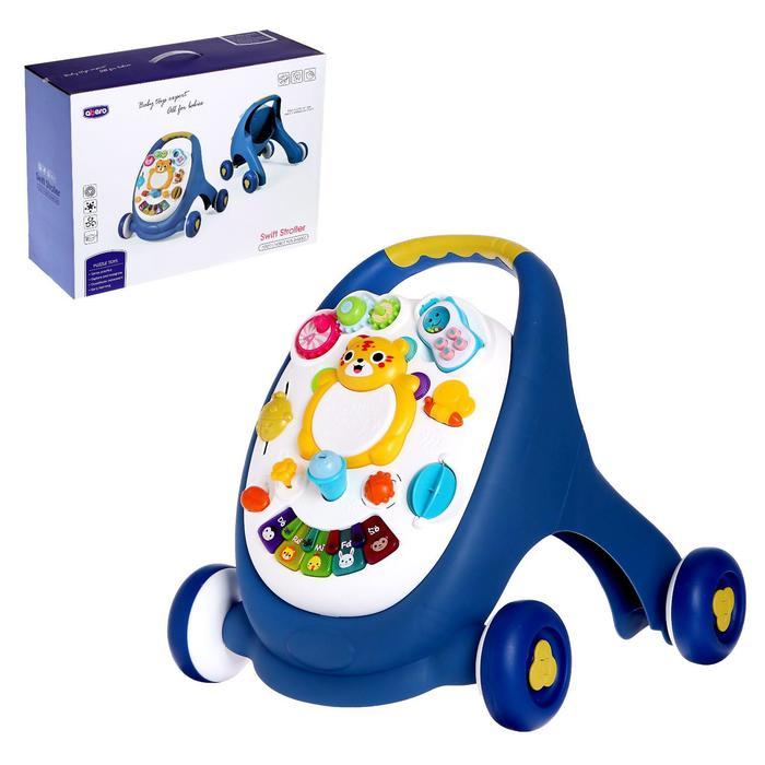 Каталка-ходунки «Мой малыш», световые и звуковые эффекты, цвета МИКС - фото 76711443