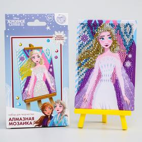 Children's diamond mosaic Frozen + container, stick with glue pad