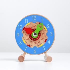 Детские обучающие часы «Учим время» 11×3×14 см, МИКС