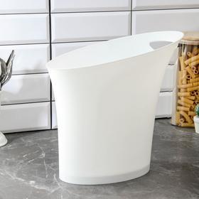 Корзина без крышки Elegance, 33,5×18×31 см, цвет белый