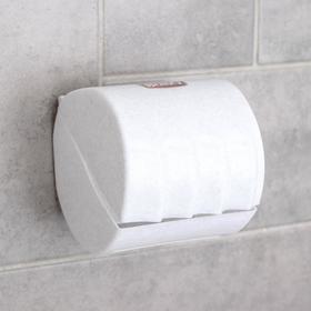 Держатель для туалетной бумаги, цвет мрамор