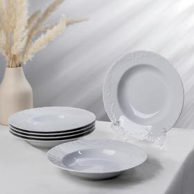 Набор тарелок глубоких Rococo, d=22,5 см, 6 шт