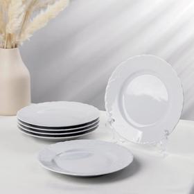 Набор тарелок десертных Cmielow Rococo, d=19 см, 6 шт