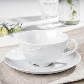 Чайная пара Rococo, 220 мл, блюдце d=15,7 см