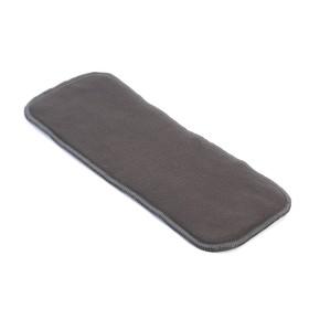 3-layer diaper insert, black color