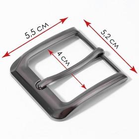 Belt buckle 5.5*5.2 cm 35mm black Nickel AU