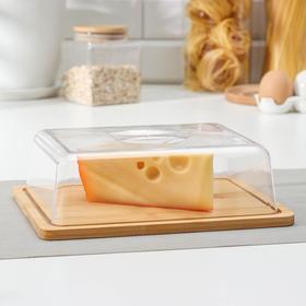 Сырница, 24×18,5×7 см, бамбук