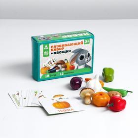 Счётный материал «Овощи» 15х10х5 см