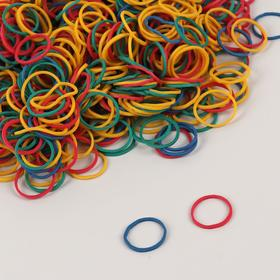 Hairdressing elastic bands d / cod hairstyles silik d1, 5*0.1 cm (350gr price per FAS) MIX NAC QF