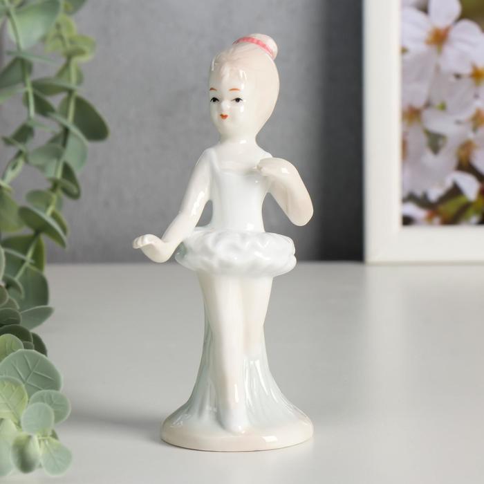 Сувенир керамика Маленькая балерина 12,5х5х5 см