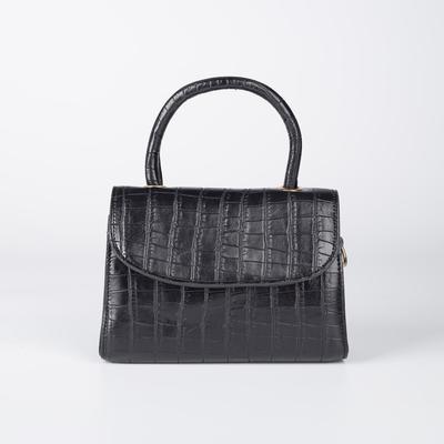 Bag of Beth's wives, 18*5,7*13, otd on the flap, belt length, black