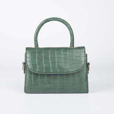 Bag of Beth's wives, 18*5,7*13, otd on the flap, belt length, green