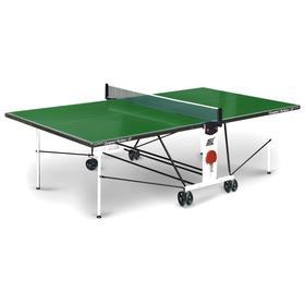 Теннисный стол Compact Outdoor 2LX green
