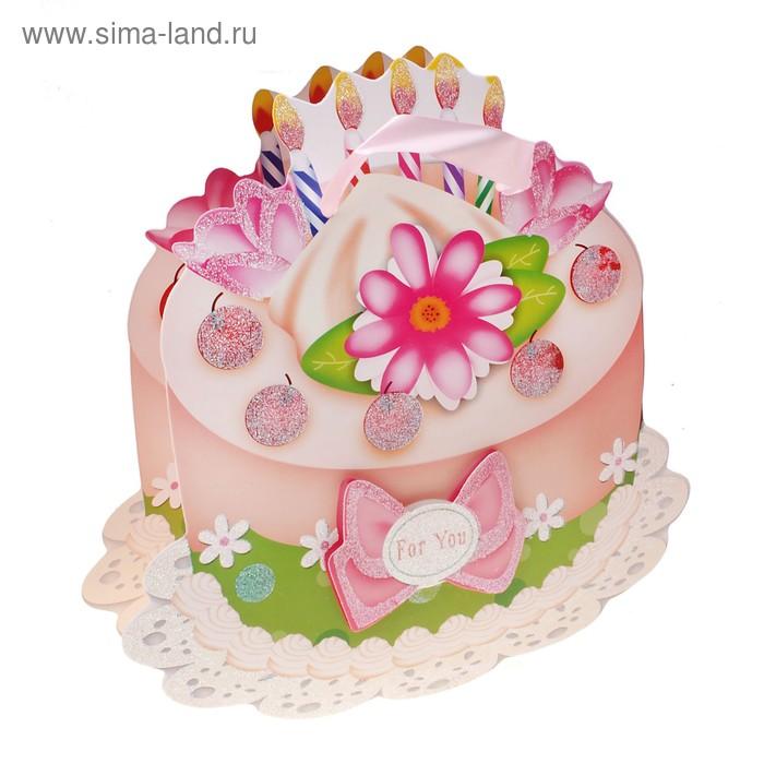 """Пакет ламинированный """"Тортик. Вишенка"""""""