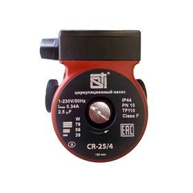 Насос циркуляционный STI CR 25/4-130, напор максимальный 4 м, 39/56/79 Вт, 130 мм