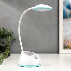 Лампа настольная c АКБ 16217/1 20хLED 4Вт 3000/6000К USB МИКС 10,8х10,8х43,5 см