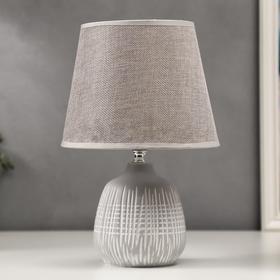 Лампа настольная 16239/1GR E14 40Вт серый 20х20х30 см
