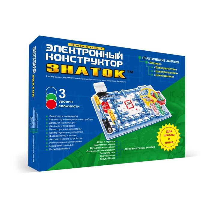 """Электронный конструктор """"999 схем+Школа"""""""