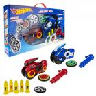 Машина Spin Racer. Deluxe Set, 16 см 2 пуск.мех + 3 диска, с аксес - фото 76803720