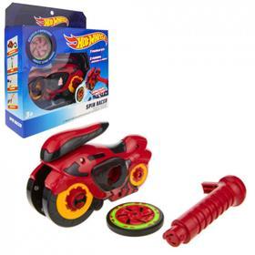 Машина «Spin Racer. Красный Мустанг» 16 см, пуск. мех с диском, цвет красный