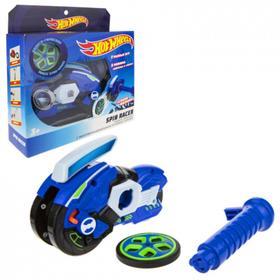 Машина «Spin Racer. Синяя Молния» 16 см, пуск. мех с диском, цвет синий