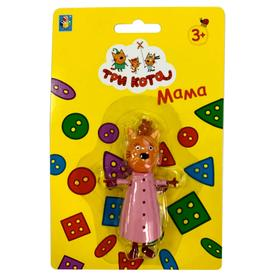 Игрушка «Три Кота. Мама» 8 см, подвижные ножки и ручки