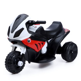 Детский электромобиль «Байк», цвет красный
