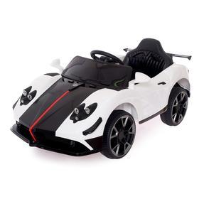 Электромобиль Spyder, радиоуправление, цвет белый