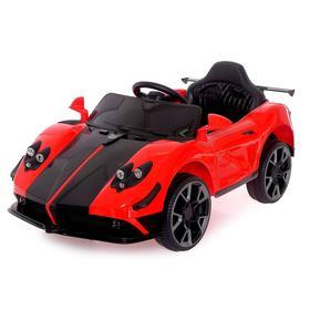 Электромобиль Spyder, радиоуправление, цвет красный