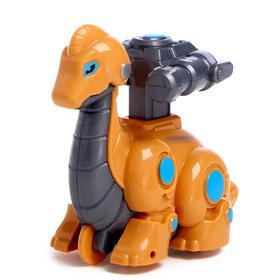 Игрушка заводная «Робот: Динозавр», двигается от нажатия, цвета МИКС