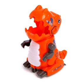 Игрушка заводная «Механический динозавр», двигается от нажатия, цвета МИКС
