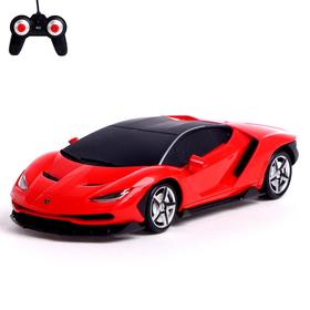 Car radio-controlled Lamborghini Centenario, scale 1: 24, battery operated, light, MI