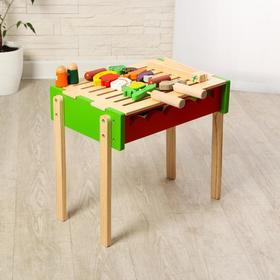 """Игровой деревянный набор """"Барбекю"""" 45х30х39 см"""