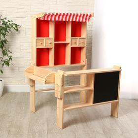 Игровой деревянный набор «Магазинчик» 73х60х102 см