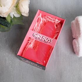 Мыло мужское достоинство Girlboss розовый