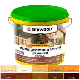 Защитно-декоративное покрытие ZERWOOD ZDP орех 5кг