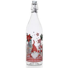 Бутылка «Рождественский Гном», 1000 мл, с бугельной крышкой