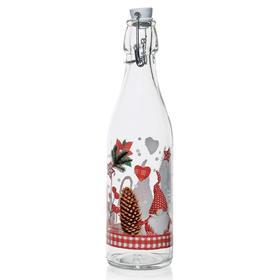 Бутылка «Рождественский Гном», 500 мл, с бугельной крышкой