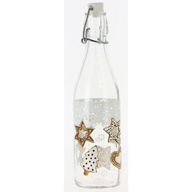 Бутылка «Рождественское печенье», 500 мл, с бугельной крышкой