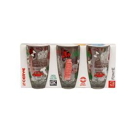 Набор стаканов «Лав Итали» 370 мл, 3 шт