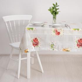 Клеенка ПВХ «Фруктовый стол» (рулон 30 метров), ширина 137 см