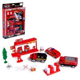 Набор металлических моделей «Пожарная часть»